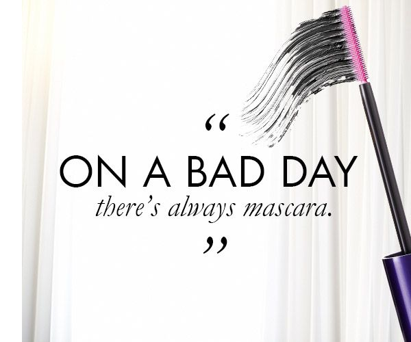 Whenever we have a bad day, we know that a little mascara can brighten up our look and our mood.