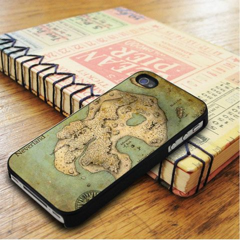Neverland Old Map iPhone 5|iPhone 5S Case
