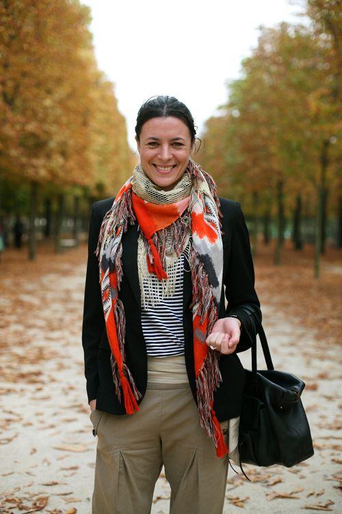 A Femme d'Un Certain Age: The Zebra & La Marinière Question