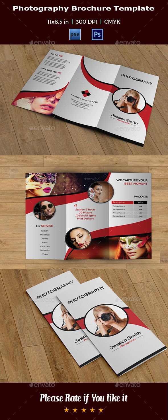Trifold Photography Brochure -V21 - Corporate Brochures Download here : https://graphicriver.net/item/trifold-photography-brochure-v21/19697465?s_rank=25&ref=Al-fatih
