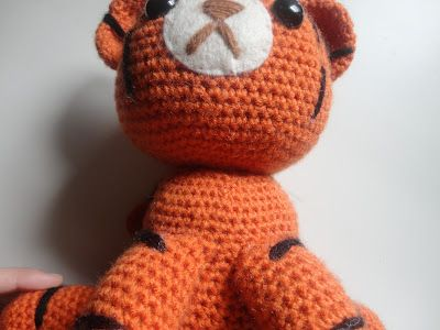 Nerdy Amigurumi Patterns : 17 Best images about Tiger on Pinterest Toys, Ravelry ...