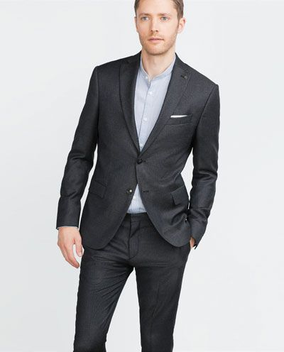 TWO-TONE SUIT BLAZER
