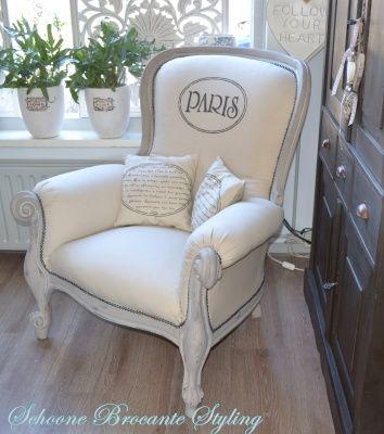 Zeer unieke barok fauteuil, stoel