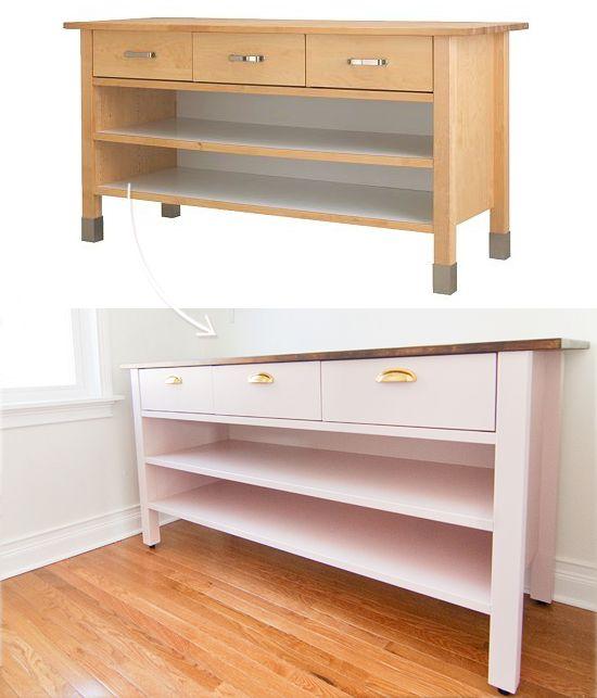 die besten 25 bewegliche k cheninsel ideen auf pinterest. Black Bedroom Furniture Sets. Home Design Ideas