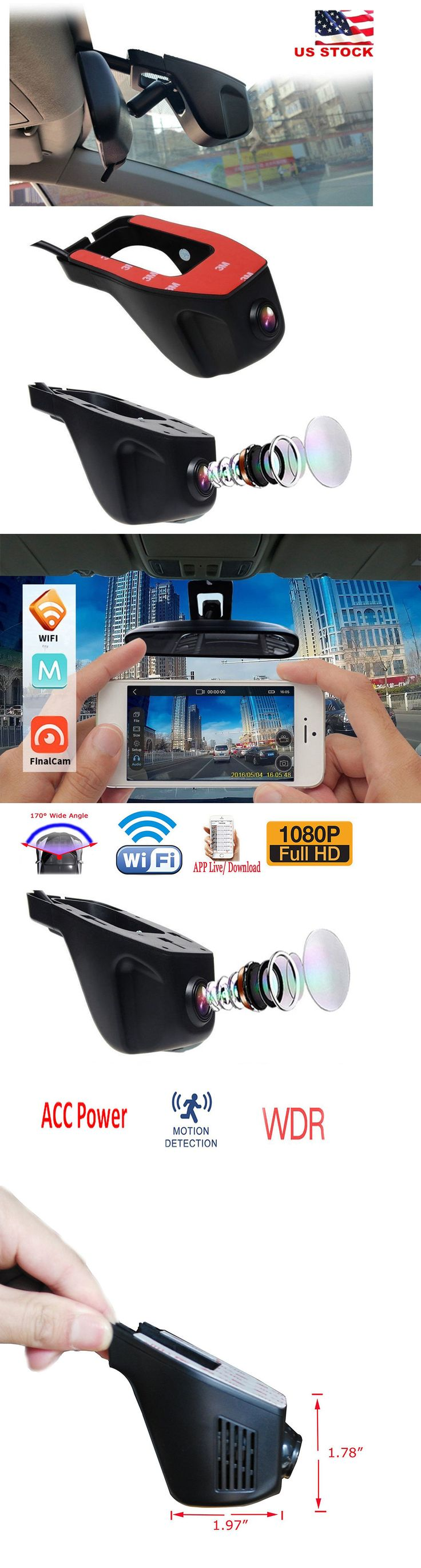 Digital Video Recorders Cards: Wifi 1080P Hd Hidden Camera Car Dvr Video Recorder Night Vision Dashcam G-Sensor -> BUY IT NOW ONLY: $60.05 on eBay!