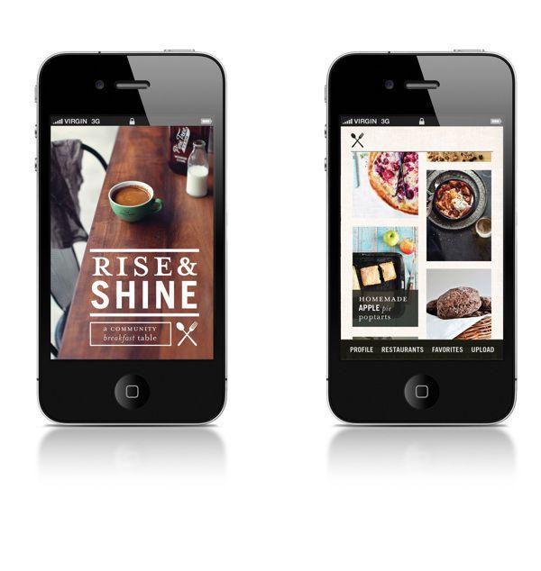 Rise & Shine App on Behance