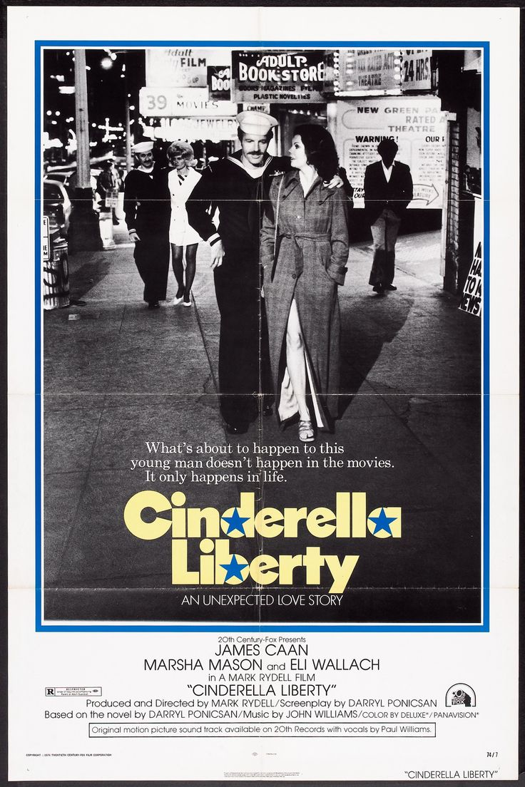 Cinderella Liberty (1973) Stars: James Caan, Marsha Mason, Kirk Calloway, Eli Wallach, Burt Young, Bruno Kirby, Allyn Ann McLerie, Dabney Coleman ~ ing lost. Director: Mark Rydell (Nominated for 3 Oscars, 5 Golden Globes; Marsha Mason won a Golden Globe for Best Actress)