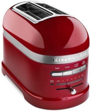 KitchenAid Pro Line KMT2203 2-Slice Toaster - Red