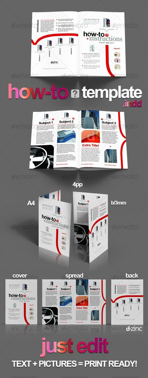 brochure template for indesign - top 110 ideas about exemples indesign on pinterest