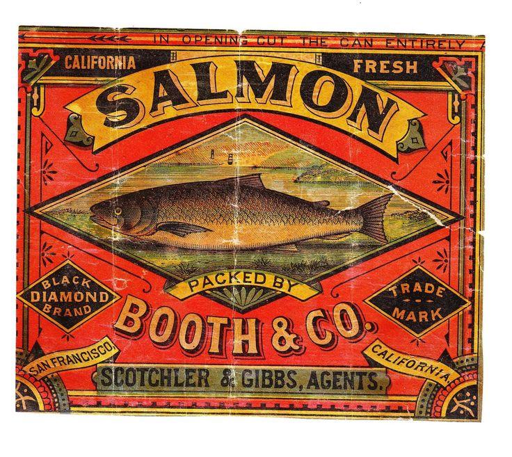 Booth Amp Co San Francisco California Salmon Advertising