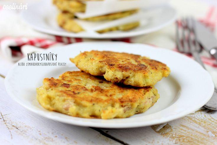 Celkom iné kapustníky - zemiakové placky s kyslou kapustou - vyzerá to MŇAM!