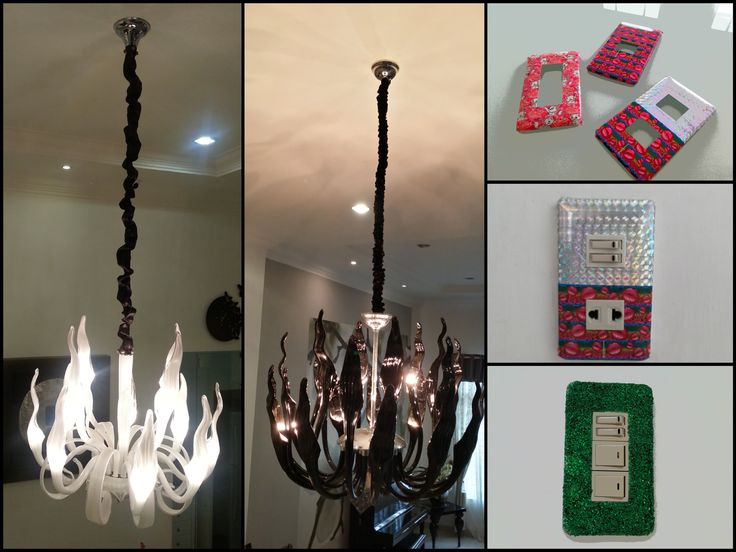 DIY Home Decoration / Personalized Your Decorative Lamps and Light Switc...