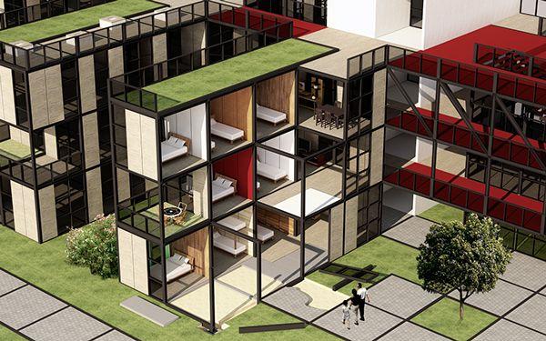 Habitação Social | VII Concurso CBCA on Behance