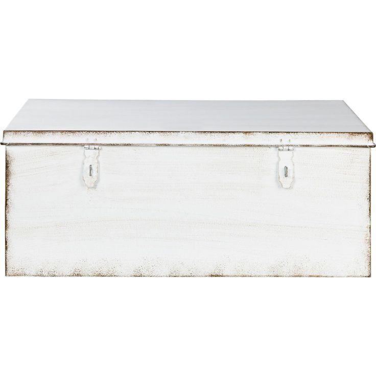 Decoratieve opbergers: KIST MELTON WIT 50X30X20 CM voor € 15,00| Koop online bij Kwantum.nl