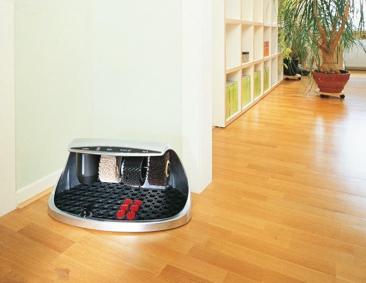 Domowa maszyna do czyszczenia i polerowania obuwia
