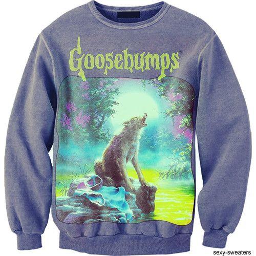 Goosebumps sweater