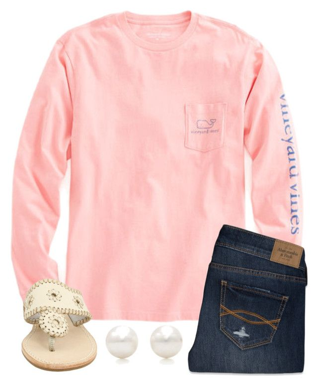 """I'm getting impatient"" by legitmaddywill on Polyvore featuring Vineyard Vines, Abercrombie & Fitch, Jack Rogers, Tiffany & Co., women's clothing, women's fashion, women, female, woman and misses"