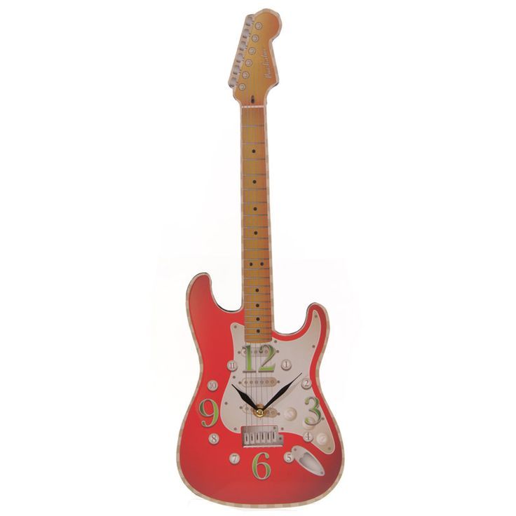 Red Rock Guitar Clock