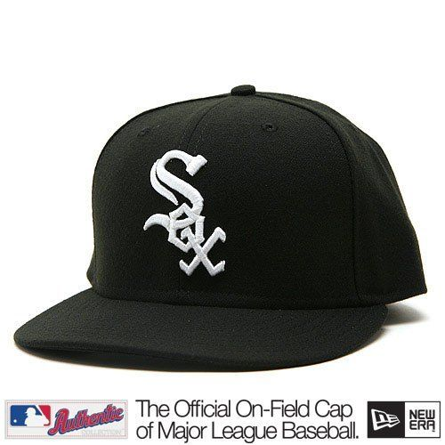 Chicago White Sox Youth Home Wool On-Field Cap by New Era Select Fitted Cap