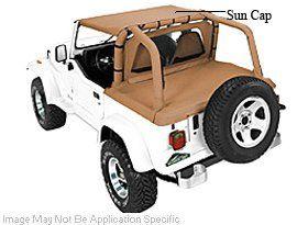 Pavement End Bikini Top for 1987 - 1991 Jeep Wrangler Pav...