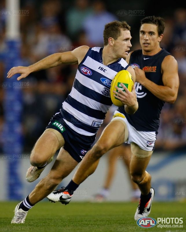 Joel Selwood and some Carlton player...AFL Photos - Galleries - AFL Photo Galleries