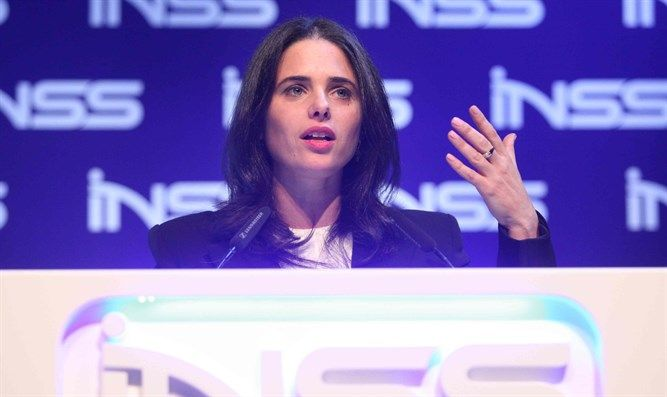 """Ayelet Shaked: """"WE BUILD BECAUSE WE HAVE THE RIGHT. This is Zionism """""""