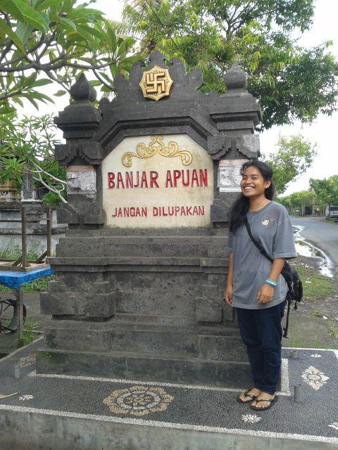 Balai Banjar Apuan-Singapadu in Sidemen, Bali