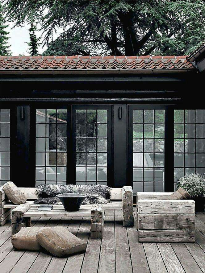 Terrasse d hiver