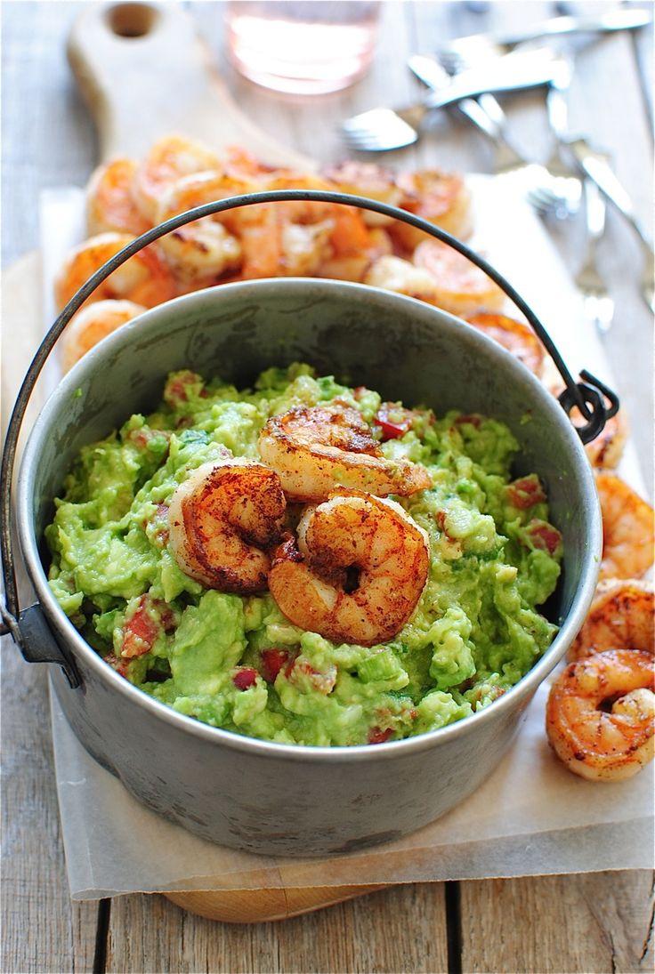 Cajun Shrimp Guacamole