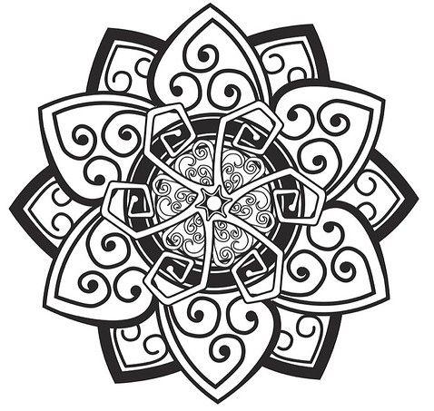 Celtic Flower Tattoo Design By Bull Schit Love