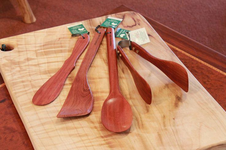 100% Handmade Gift Bundle:The Basic Kitchen Utensil Set | Australian Woodwork