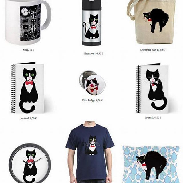 This cat has his own official merch at:  Http://www.cafepress.com/Arkimedesk Check it out! 😃 #cat #catsofinstagram #kitten #kittensofinstagram #shop #clothes #merch #cute #shirt #bag #pillow