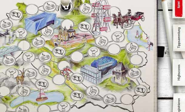 Ein Klick und Du kannst einen Österreich-Urlaub für zwei Personen gewinnen. http://www.travelbusiness.at/tourismus/oesterreich-tourismus-social-game-facebook-urlaub-gewinnen/0017690/
