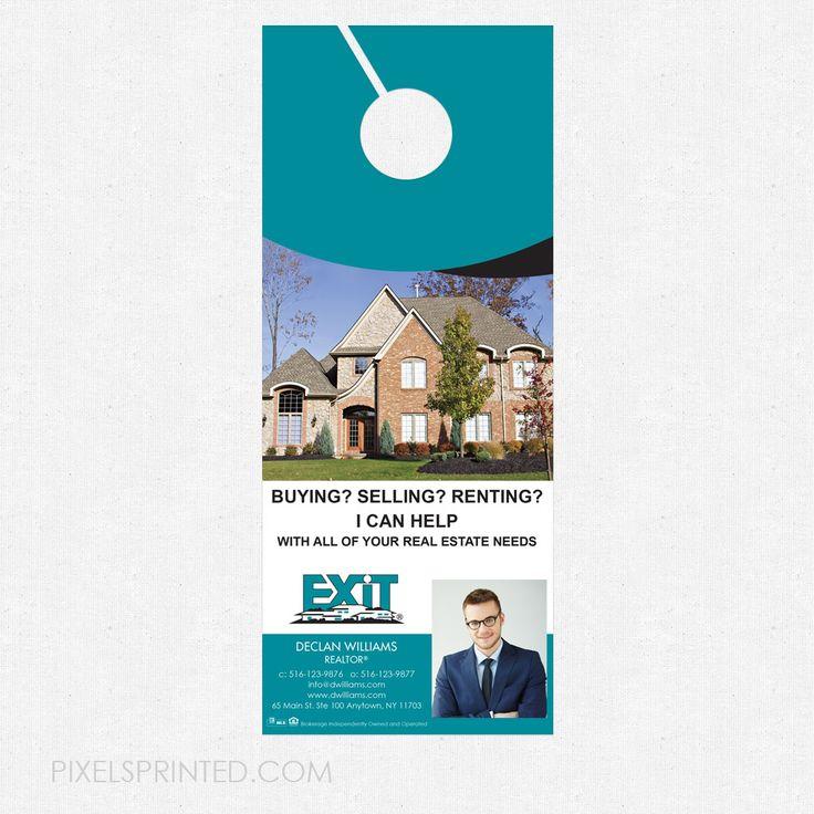 12 best Real Estate Door Hangers images on Pinterest Better homes