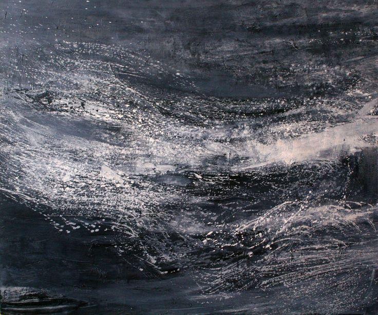 THE SEA - Acrylic/Panel 100x120 cm. 2009 zinniaclavo.com