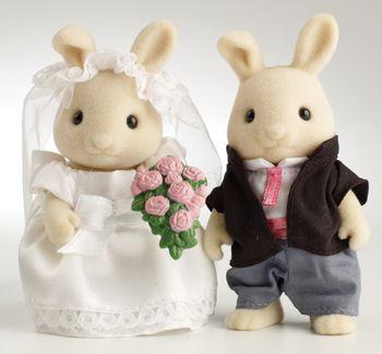 Rabbit Bride & Groom - Ref: WS10