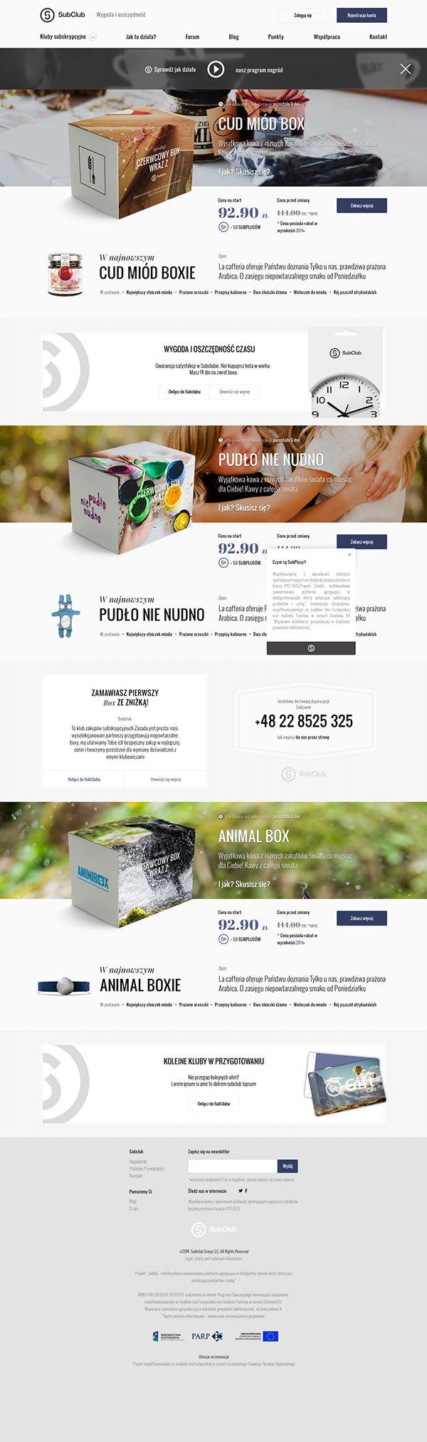 Subclub #website #web #webdesign [www.pinterest.com/loganless]