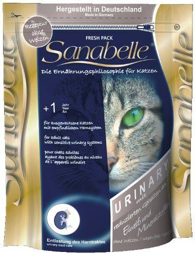 Aus der Kategorie Sanabelle  gibt es, zum Preis von EUR 3,99  Für ausgewachsene Katzen mit empfindlichem Harnsystem. Sanabelle Urinary ist besonders geeignet für alle ausgewachsenen Katzen, die sensibel im Bereich der harnabführenden Organe reagieren. Durch...