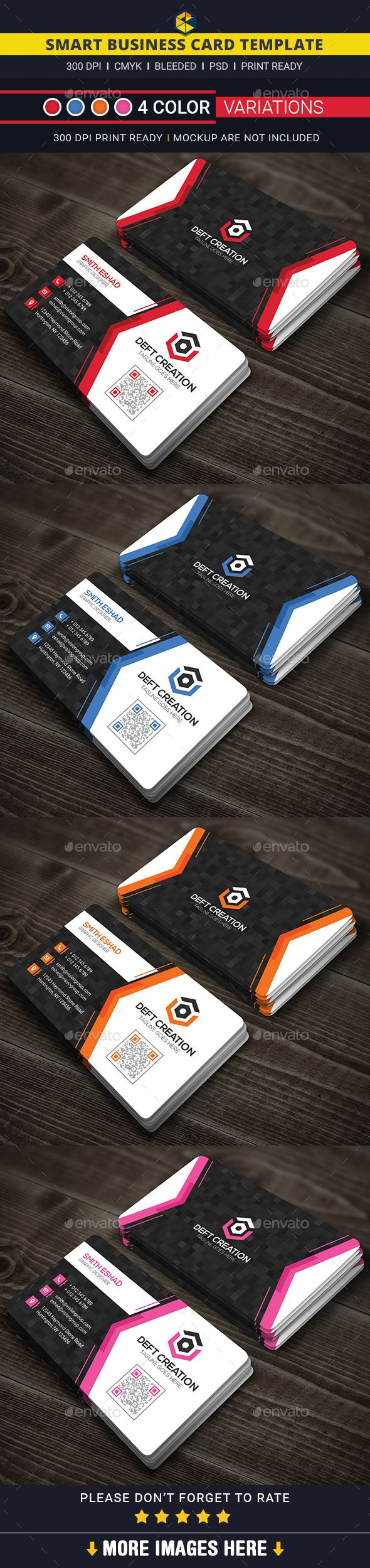 103 best business card templates images on pinterest business card smart business card template design download httpgraphicriver flashek Choice Image
