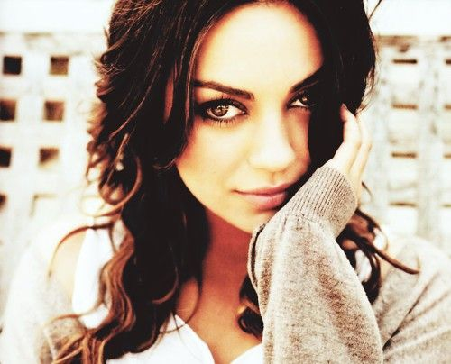 """Mila Kunis - from obnoxious Jackie on """"That 70's Show"""" to voicing Meg on """"the Family Guy"""" to an Academy Award nomination for """"Black Swan"""" - talk about moving up in the world!!"""