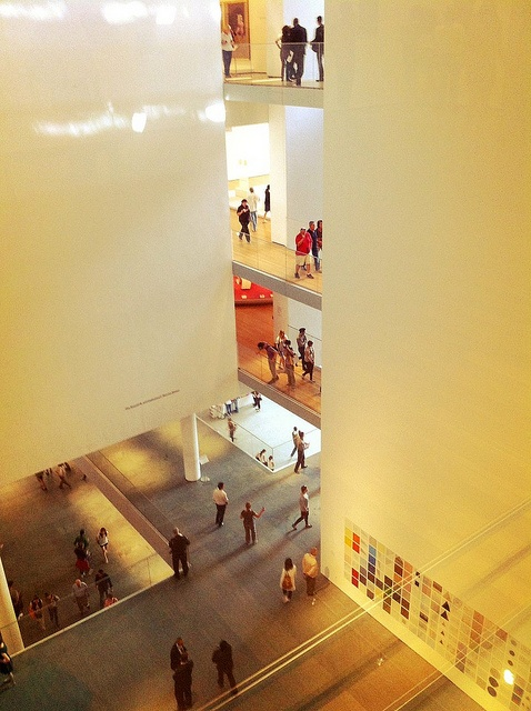 Museum of Modern Art, New York City, redesigned by Japanese architect Yoshio Taniguchi. Photographed using an Apple iPhone 4.      I stumbled on to this and I have to say Wow !!    Have a Look at some Great Art Prints that I found!!  http://su.pr/4hf638