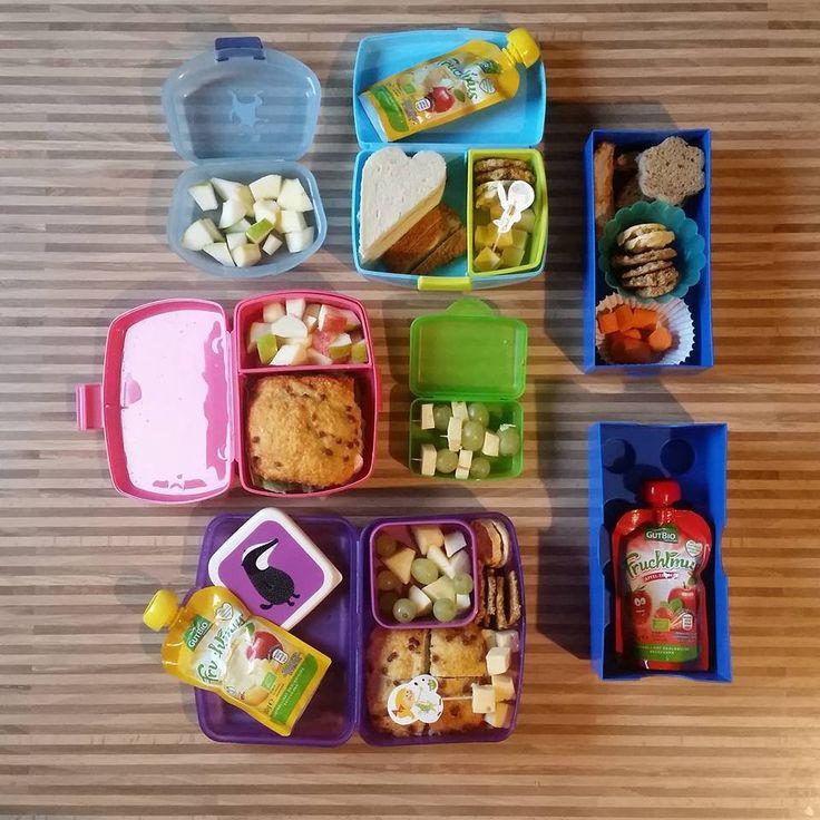 Frühstücksideen Bentobox, Brot, frühstück, kinder, essen, lustig, schnell, einfach