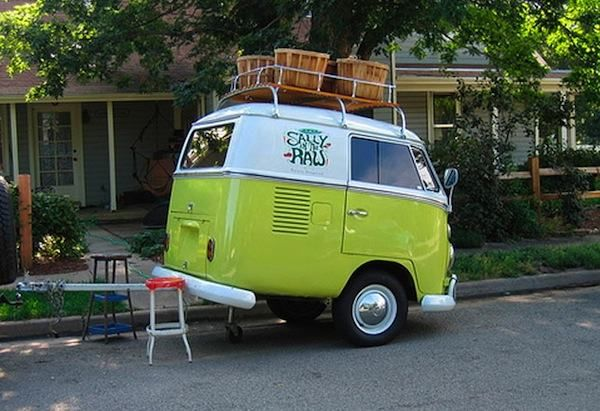 6 VW Vans Converted into Original Teardrop-like Micro Campers | Tiny House Pins
