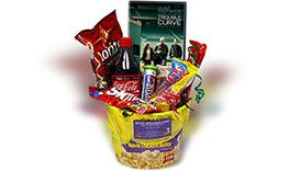 Trouble With The Curve Movie Night Basket