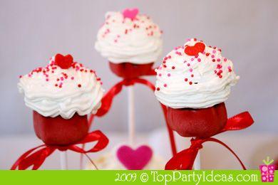 Mini Cupcake pops....so cute