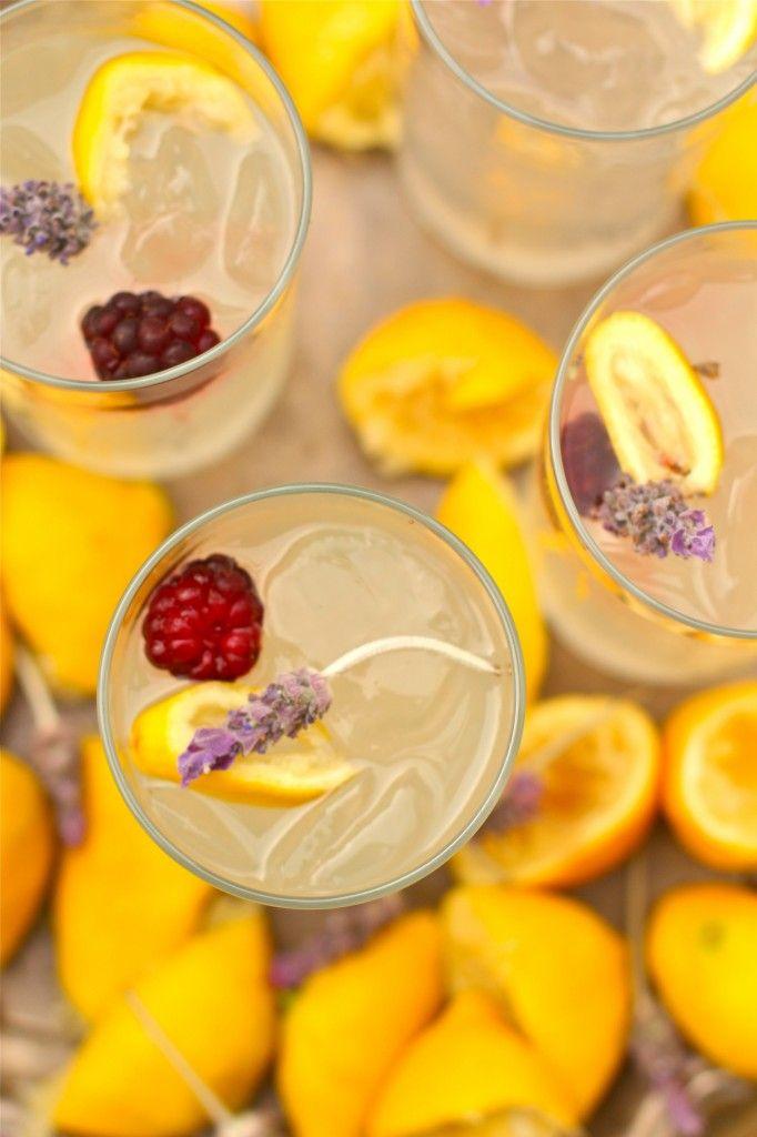 Fresh Squeezed Lavender Lemonade