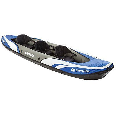 Kayaks 36122: Sevylor #2000014131 Big Basin(Tm) 3-Person Kayak -> BUY IT NOW ONLY: $439.99 on eBay!