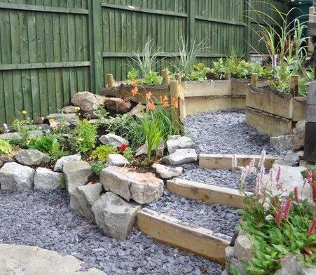 39 best rockery images on Pinterest Garden walls Slate and Dry