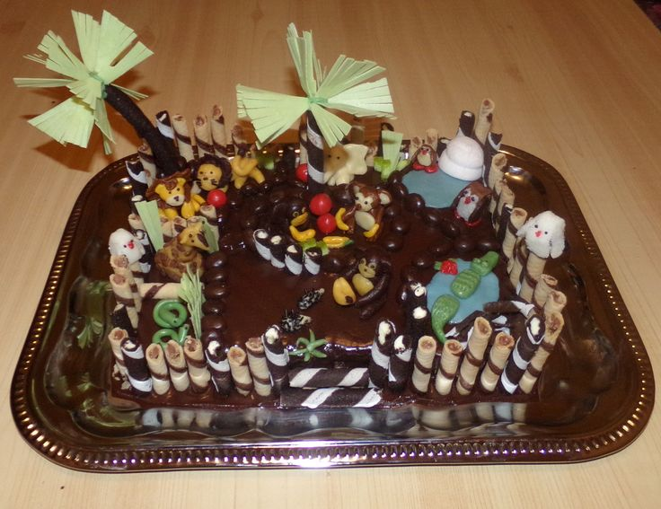 My Zoo Cake