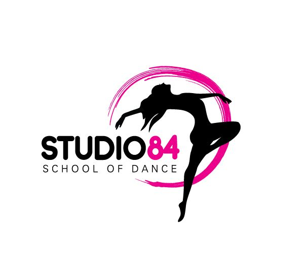 Studio-84-School-of-Dance-logo-designer-uk